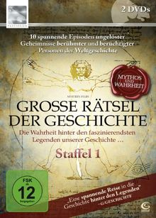 Große Rätsel der Geschichte - Mythos und Wahrheit - Staffel 1 (Parthenon / SKY VISION) (2 DVDs)