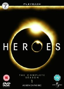 Heroes - Season 1 - Complete [UK IMPORT] [7 DVDs]