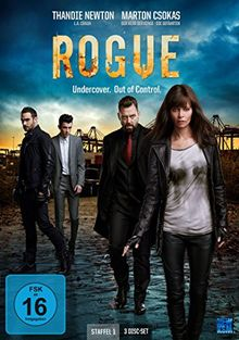 Rogue - Undercover. Out of Control. Staffel 1 (Episode 1-10 im 3 Disc Set)