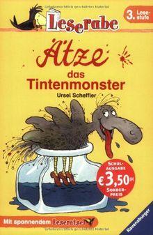 Leserabe - Schulausgabe in Broschur: Ätze, das Tintenmonster