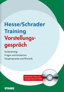 Training - Bewerbung / Training - Vorstellungsgespräch: Vorbereitung> Fragen und Antworten> Körpersprache und Rhetorik