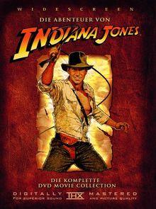 Indiana Jones - Die komplette DVD Movie Collection