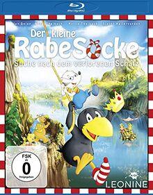Der kleine Rabe Socke 3 - Die Suche nach dem verlorenen Schatz [Blu-ray]