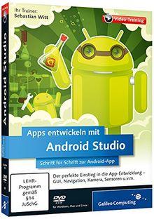 Apps entwickeln mit Android Studio - Schritt für Schritt zur eigenen Android-App