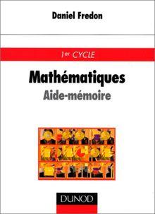 Mathématiques. Aide-mémoire