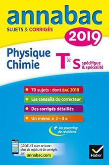 Annabac Physique-chimie Tle S : Sujets et corrigés