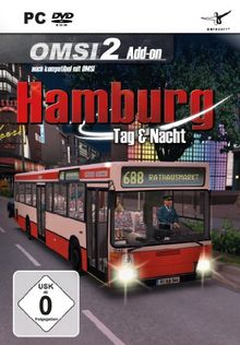 OMSI 1&2 - Hamburg Tag & Nacht (Add - On) - [PC]