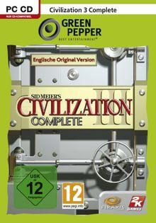Sid Meier's Civilization III - Complete [Green Pepper]