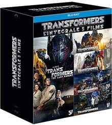 Coffret transformers 1 a 5 [Blu-ray] [FR Import]