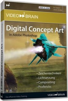 Digital Concept Art in Adobe Photoshop (DVD-ROM)