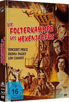 Die Folterkammer des Hexenjägers - Uncut Limited Mediabook-Edition (Blu-ray+DVD plus Booklet/HD neu abgetastet)