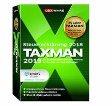 Lexware Taxman 2019 Minibox|Übersichtliche Steuererklärungssoftware für Arbeitnehmer, Familien, Studenten und im Ausland Beschäftigte|Kompatibel mit Windows 7 oder aktueller