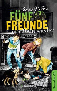 Fünf Freunde ermitteln wieder - DB 02: Sammelband 02: Fünf Freunde auf geheimnisvollen Spuren/ Fünf Freunde auf Schmugglerjagd