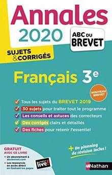 Français Brevet