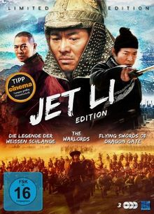 Jet Li Edition (Die Legende der Weißen Schlange / The Warlords / Flying Swords of Dragon Gate) [3 DVDs] [Collector's Edition]