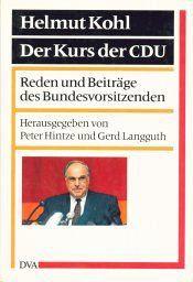 Helmut Kohl, Der Kurs der CDU