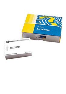 Lernkarten Bankkaufmann/-frau: Modul Rechnungswesen und Controlling