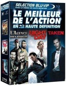 Coffret action : l'agence tous risques ; night and day ; taken [Blu-ray] [FR Import]