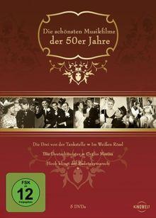 Die schönsten Musikfilme der 50er Jahre [5 DVDs]
