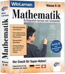 Mathematik, Klasse 5-10, 1 CD-ROM Der Coach für Super-Noten. Abgestimmt auf die Lehrpläne der Länder Deutschland, Österreich, Schweiz. Für Windows 95/98/ME/XP
