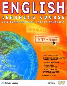 English Learning Course, CD-ROMs : Intermediate, 2 CD-ROMs Für Windows 95/98/NT