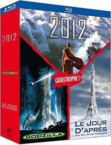 Coffret roland emmerich 3 films : 2012 ; godzilla ; le jour d'après [Blu-ray]