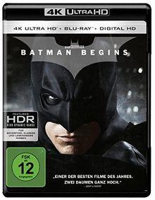Batman Begins (4K Ultra HD + 2D-Blu-ray) (2-Disc Version) [Blu-ray]
