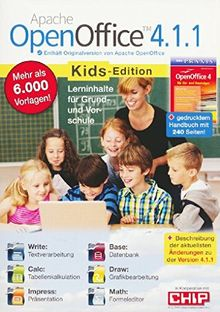 Apache OpenOffice 4.1.1. Kids-Edition