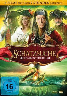 Schatzsuche: Sechs Abenteuerfilme [2 DVDs]