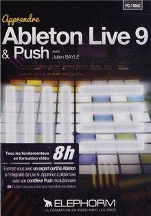 ELEPHORM APPRENDRE ABLETON LIVE 9 ET PUSH Musikbücher, Notenpapier, Dvds.. Lern DVDs