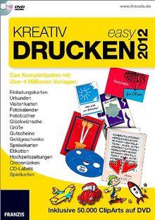 Kreativ Drucken easy 2012