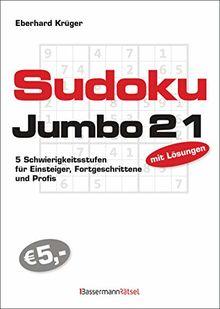 Sudokujumbo 21: 5 Schwierigkeitsstufen - für Einsteiger, Fortgeschrittene und Profis