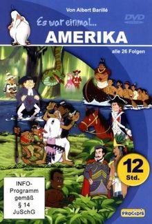 ES WAR EINMAL ... AMERIKA (6 DVDs im Geschenkschuber - 728 Minuten)