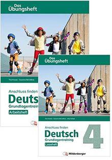 Anschluss finden / Deutsch 4 – Das Übungsheft – Grundlagentraining: Leseheft und Arbeitsheft: Grundlagentraining Klasse 4