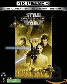Star wars, épisode II : l'attaque des clones 4k ultra hd [Blu-ray] [FR Import]