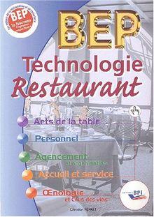 Technologie Restaurant BEP