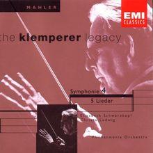 The Klemperer Legacy (Mahler: Sinfonie 4 / Rückert-Lieder)