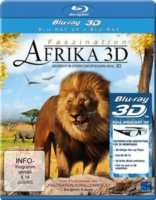 Faszination Afrika 3D (3D Version inkl. 2D Version & 3D Lenticular Card) [3D Blu-ray]