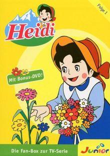 Heidi - Die Fan-Box zur TV-Serie, Folge 1 [4 DVDs]