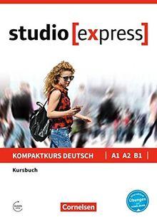 Studio [express]: A1-B1 - Kursbuch mit Audios online