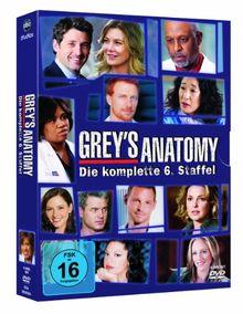 Grey's Anatomy: Die jungen Ärzte - Die komplette 6. Staffel [6 DVDs]