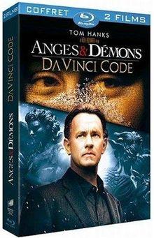 Coffret Anges et Démons + Da Vinci Code version longue [Blu-ray] [FR Import]