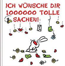 Ich wünsche dir 1000000 tolle Sachen: Cartoon-Geschenkbuch