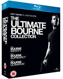 THE ULTIMATE BOURNE COLLECTION (3 FILMS) [Blu-ray] [UK Import]