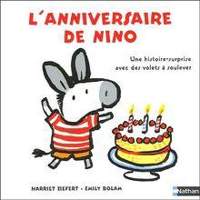 L'anniversaire de Nino : Une histoire-surprise avec des volets à soulever