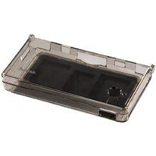 Crystal Case für Nintendo DSi, Transparent-Schwarz