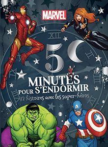 5 minutes pour s'endormir : 12 histoires avec les super-héros