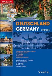Reiseatlas Deutschland 2017/2018: 1:300000 (KUNTH Reiseatlanten)