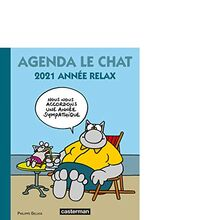 Agenda Le Chat 2021 : Année relax (Papeterie)
