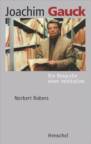 Biografie Joachim Gauck